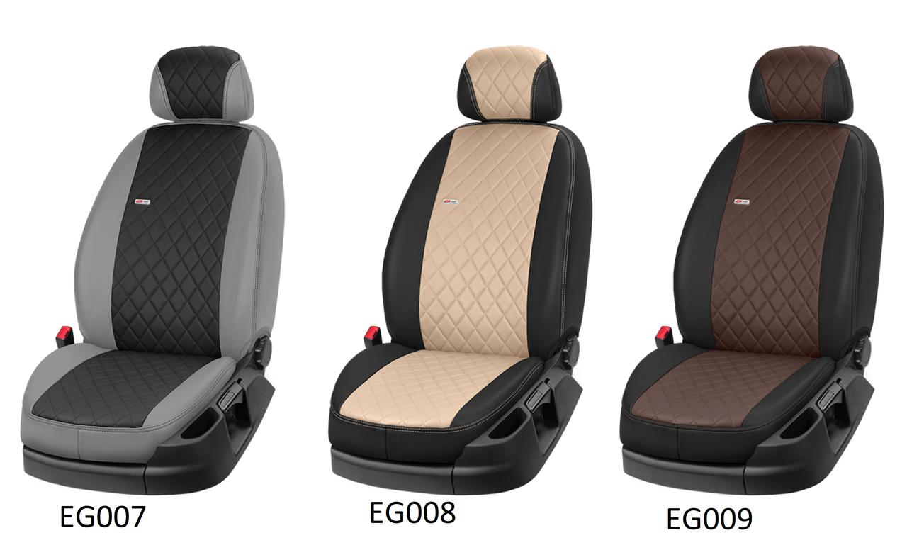 Чохли автомобільні з еко шкіри, модельні чохли Volksvagen Passat В3, Passat В4, Passat B5, Passat B6, B7, B8