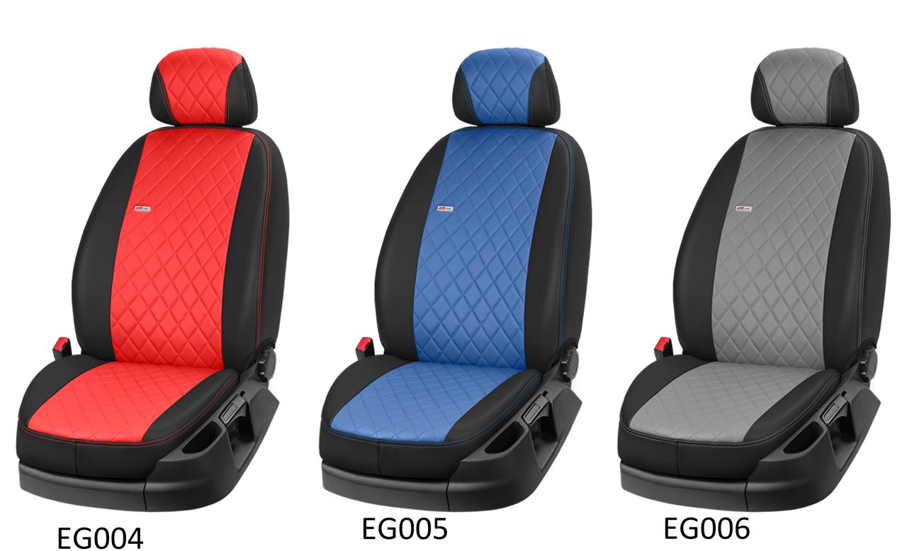 Чехлы автомобильные из эко кожи, модельные на Lada Largus, Niva 2121, Niva Taiga, Samara 2109, Samara 2114-15