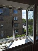 Пластиковые двустворчатые окна Openteck  Киев