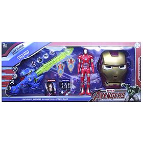 Игровой набор Мстители Железный человек, маска, меч, фигурка