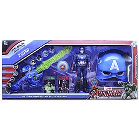 Игровой набор Мстители Капитан Америка, маска, меч, фигурка