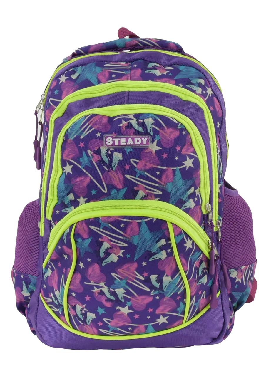 Рюкзак шкільний для дівчинки Фіолетовий