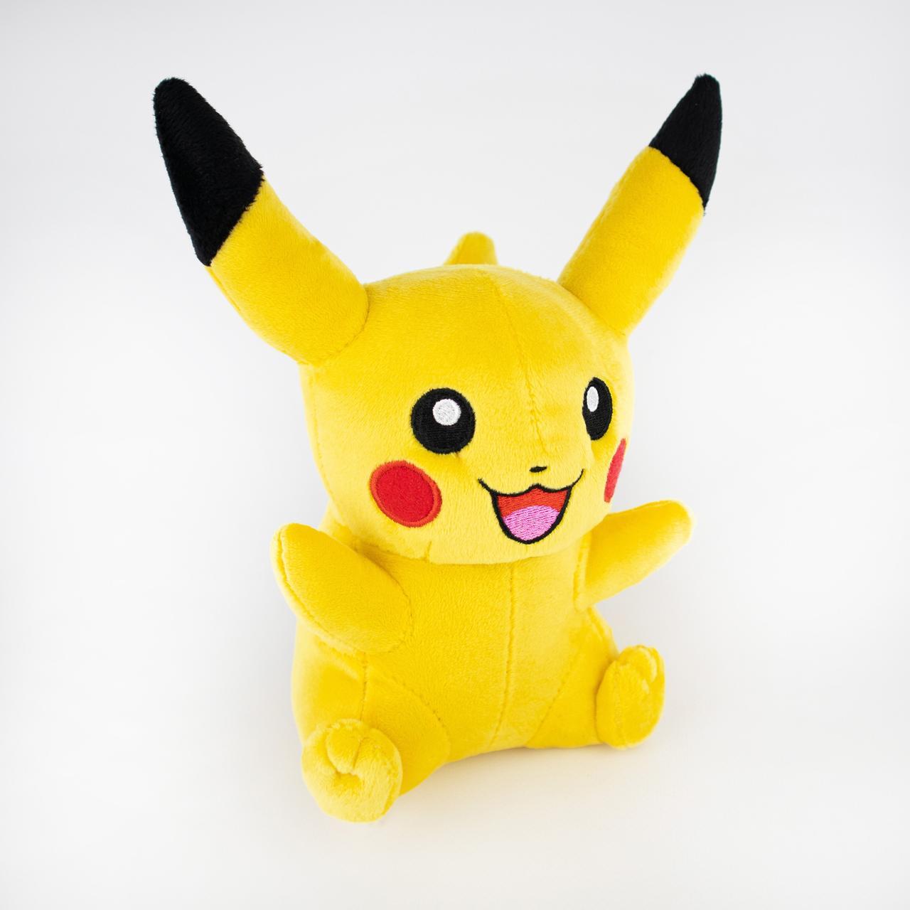 М'яка іграшка Weber Toys Покемон Пікачу з відкритим ротом 20см (6111)