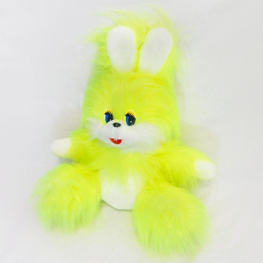 М'яка іграшка Zolushka Заєць Пушок 53см лимонний (ZL2822)