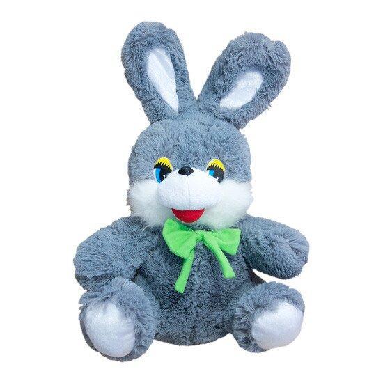 Мягкая игрушка Zolushka Заяц Степашка маленький 45см серый (ZL2663)