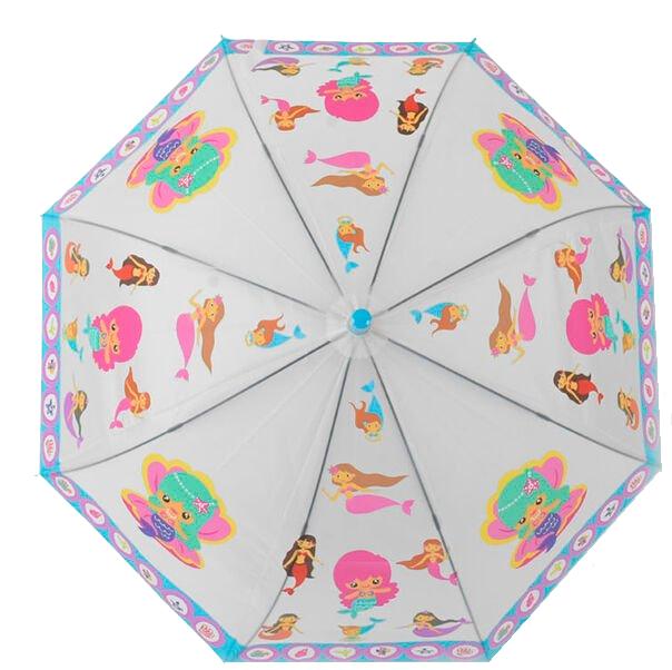 Парасолька C 43911 (60) 4 кольори, d=90 см [Пакет] - русалка
