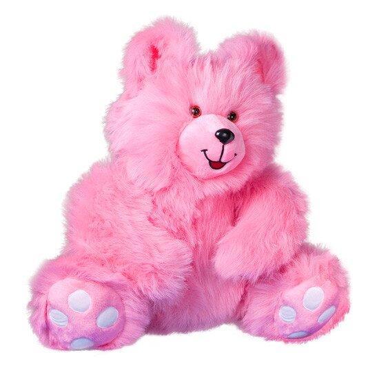 М'яка іграшка Zolushka Ведмідь Сластьона 63див рожевий (ZL0892)
