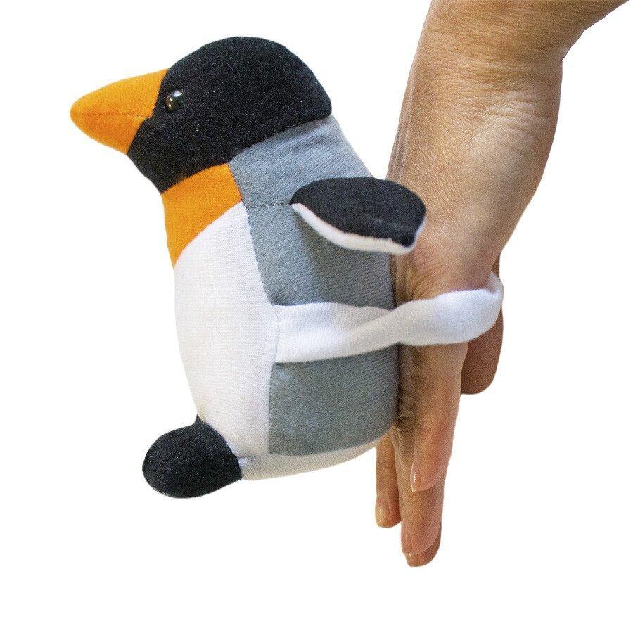 М'яка іграшка Zolushka Пінгвін Марті міні 14см (ZL569)