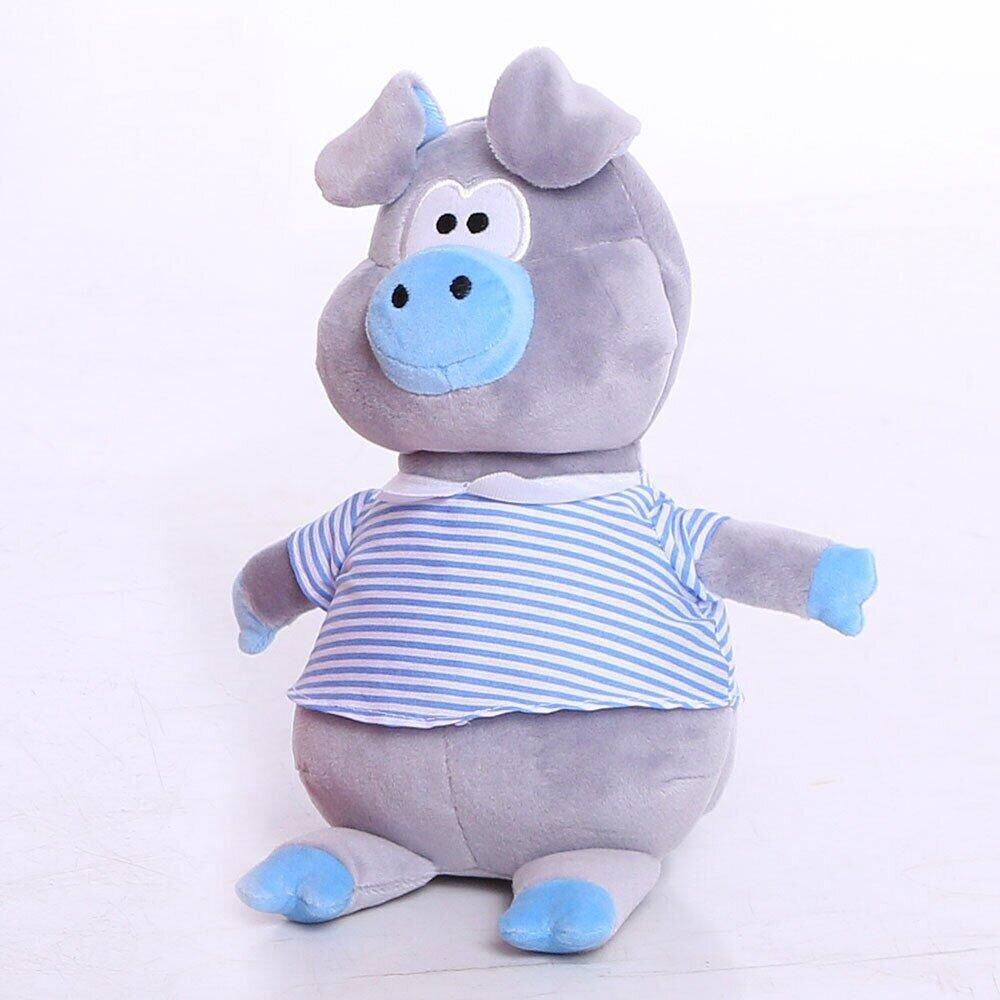 М'яка іграшка Zolushka Порося Хосе 23см в блакитному (ZL1242)