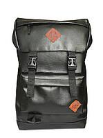 Школьный рюкзак для подростка / Рюкзаки молодежный городской для школы / Черный Мужской Женский