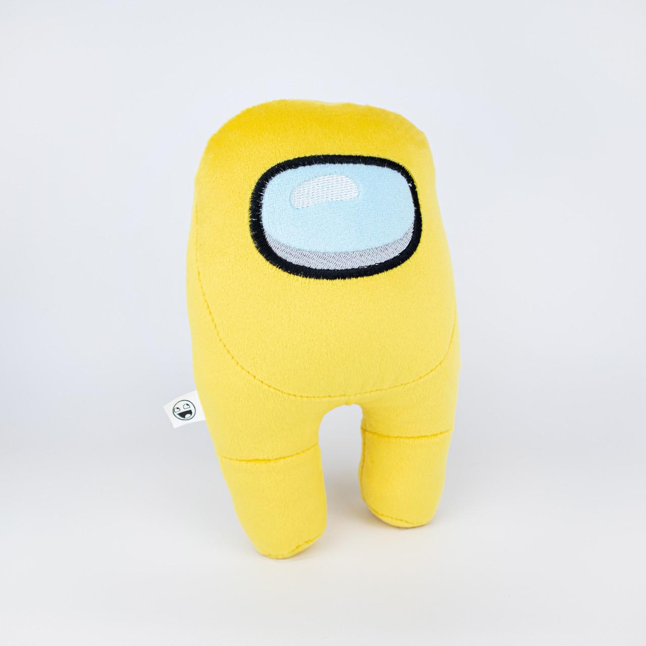 М'яка іграшка Weber Toys космонавт Among Us 20см жовтий (WT6673)