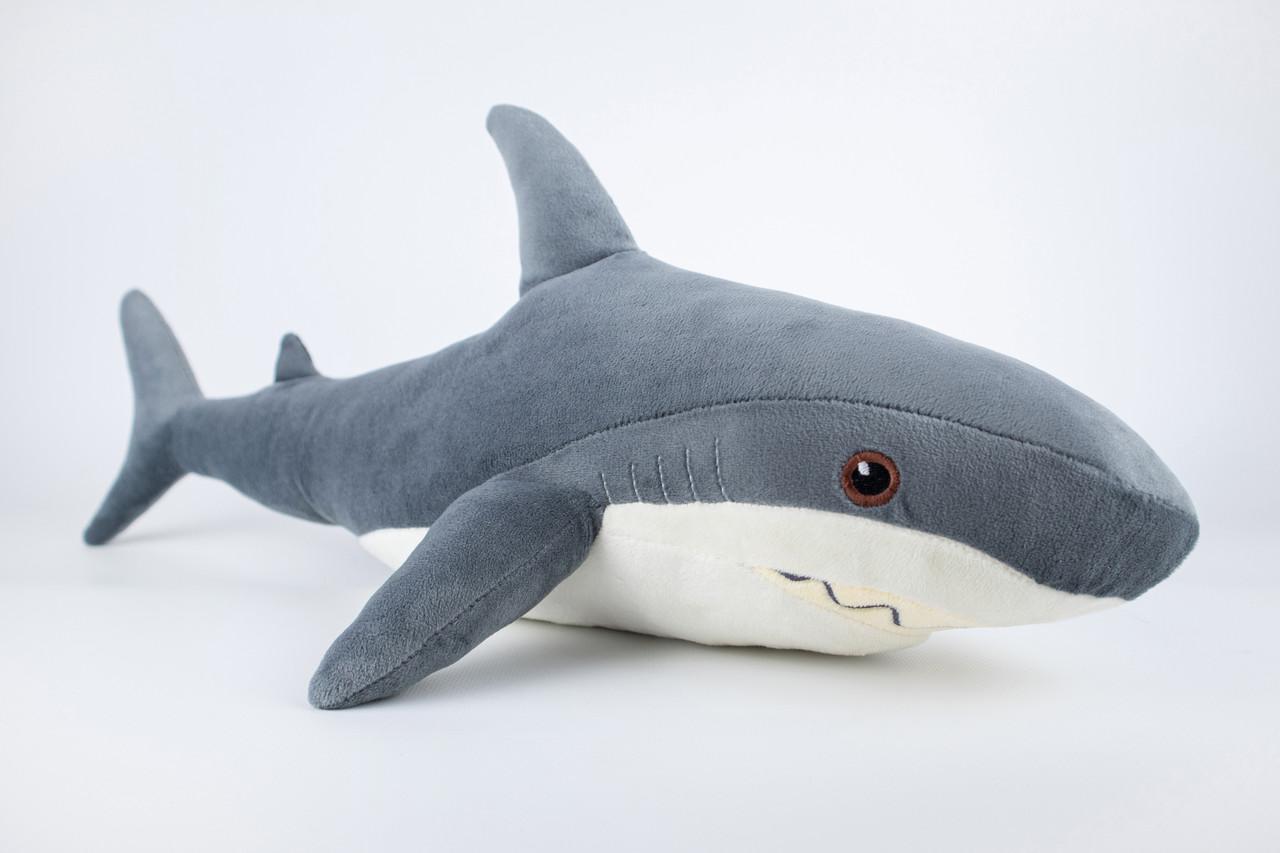 М'яка іграшка Kidsqo Акула маленька 52см сіра (KD6682)