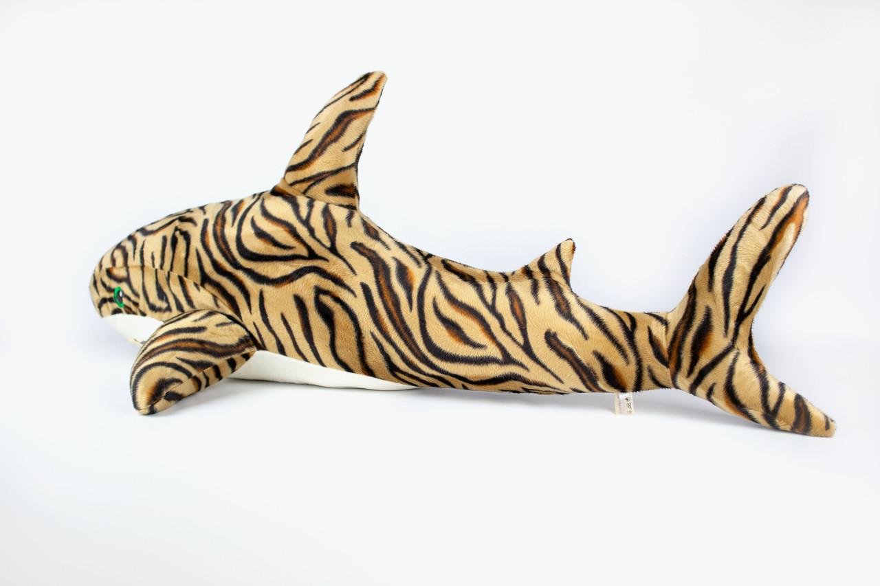 Мягкая игрушка Kidsqo Акула 107см тигровая (KD6693)