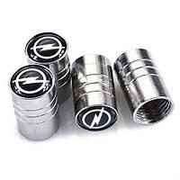Ковпачки на ніпель для Opel Alitek Long Silver Опель (4 шт)