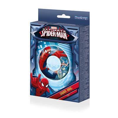Надувной круг Bestway 98003 круг для плавания Человек паук 56 см, фото 2