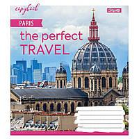 Тетрадь А5 18 Лин. 1В Perfect Travel уп/25шт