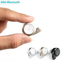 Bluetooth блютуз гарнитура мини улитка + музыка
