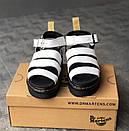 Женские сандалии Dr Martens Sandals Black/White, фото 2