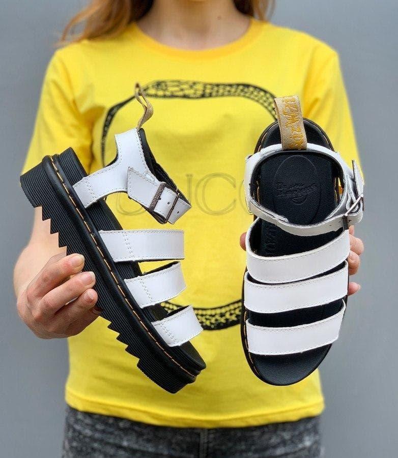 Женские сандалии Dr Martens Sandals Black/White