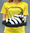 Женские сандалии Dr Martens Sandals Black/White, фото 5