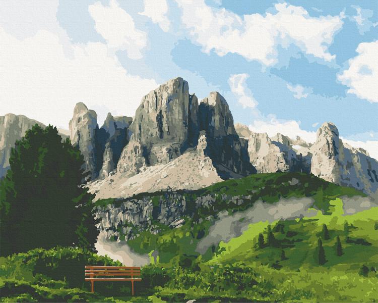 Картина по номерам Art Craft Доломитовые Альпы 40х50 см, 10555