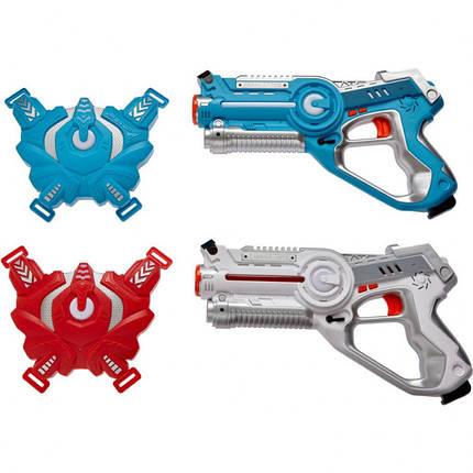Набор игрушечного лазерного оружия Canhui Toys Laser Guns CSTAR-03 (2 пистолета + 2 жилета), BB8803F, фото 2