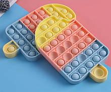 Антистрес Pop It Поп Іт Пупирка ЯКІСНА іграшка з бульбашками - морозиво IceCream