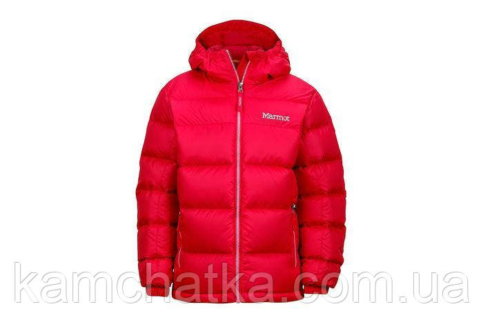 Пуховик Marmot girl's Guides Down Hoody 78170 M, Pink Rock (6641)