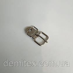 Пряжка дротяна Пілот колір нікель 12 мм