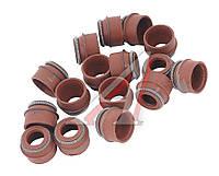 Колпачок маслоотражательный (сальник клапана) ЗМЗ 406, 405, 409 (16 шт.), пр-во Россия