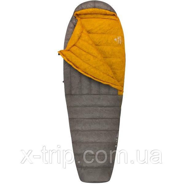 Пуховий спальний мішок Sea to Summit Spark Sp II Long Dark Gray/Yellow (STS ASP2-L)
