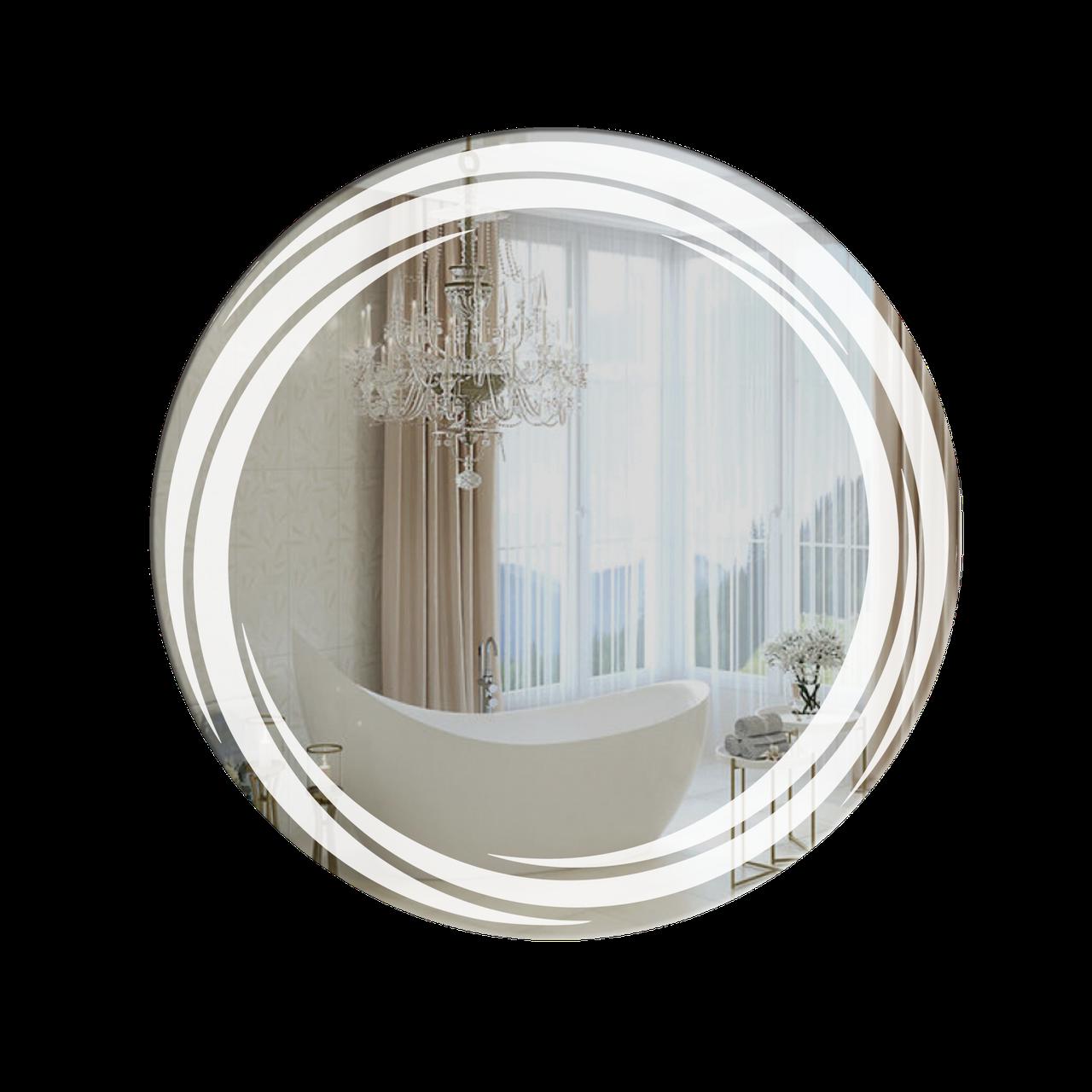 Зеркало для ванной комнаты 800х800 Ф300-108.