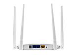 Беспроводной маршрутизатор (Wi-fi роутер) LB-Link BL-WR450H WiFi White на 4 антенны и 2 USB порта, фото 2