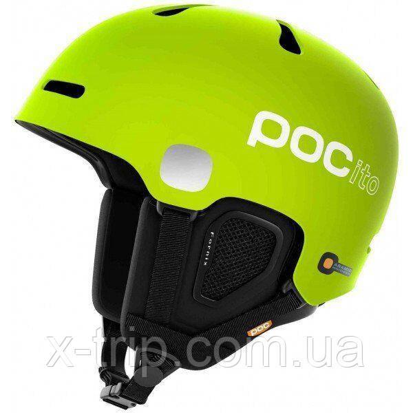 Шолом гірськолижний POC POCito Fornix Fluorescent Yellow/Green, M/L