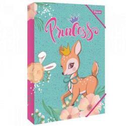 """Папка для труда 1Вересня картонная А4 """"Forest princesses"""""""