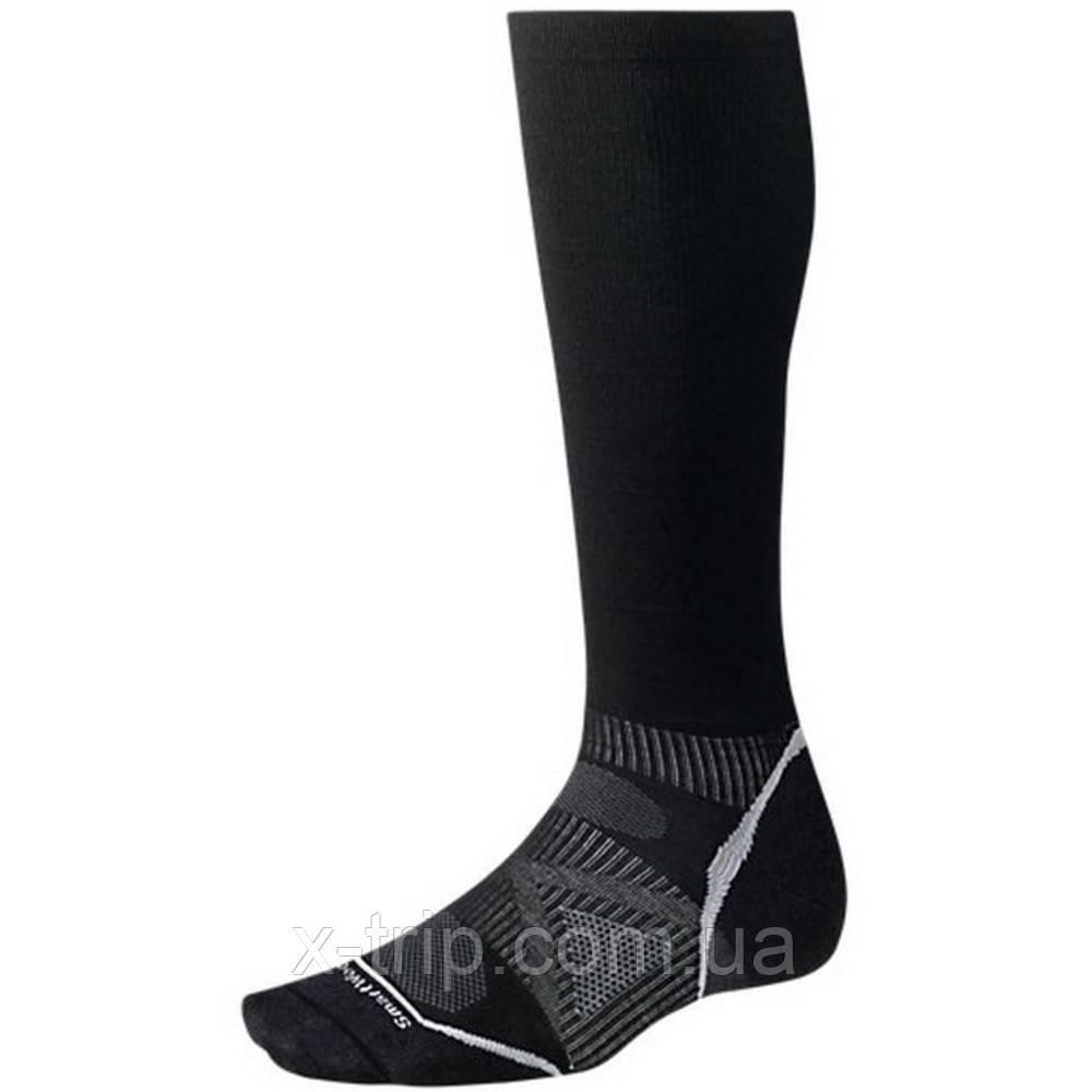 Термошкарпетки Smartwool PhD Ski Graduated Compression Ultra Light Чорний, L