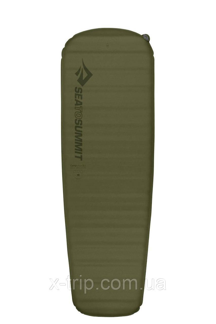 Коврик самонадувной Sea to Summit Self Inflating Camp Plus Mat, Moss, 183x51, Regular (STS AMSICAPLR)