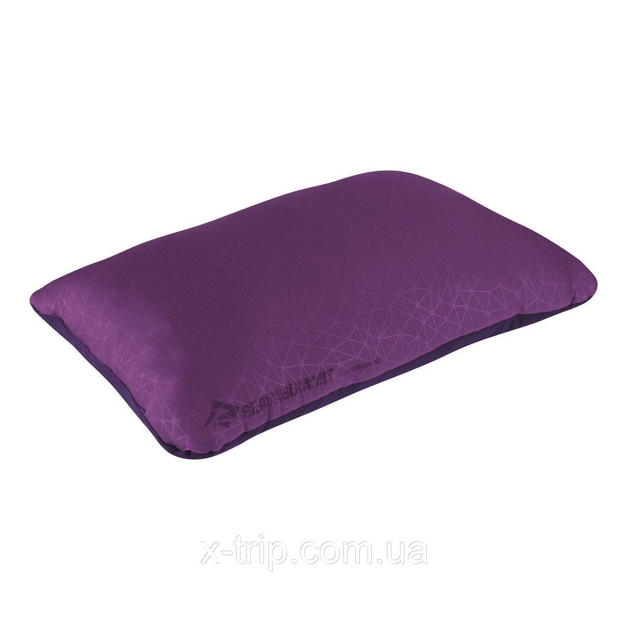 Надувна подушка Sea To Summit Foam Core Pillow Deluxe, 16х56х36см, Magenta (STS APILFOAMDLXMG)