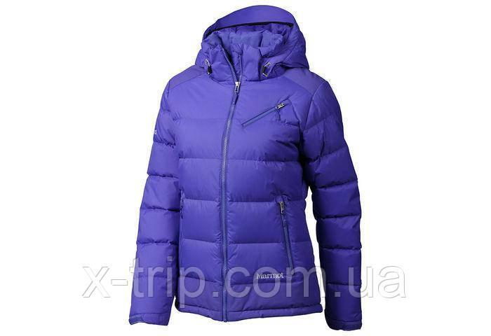Куртка пуховик жіночий Marmot women's Sling Shot Jacket 76200 XS, Blue Dusk - Gemstone (2986)