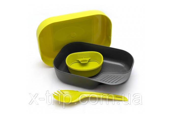 Набор туристической посуды Wildo Camp-A-Box Light Lemon (7330883202677)