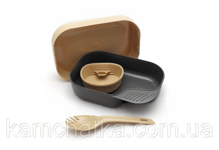 Набір туристичного посуду Wildo Camp-A-Box Light Desert (7330883202653)
