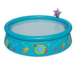 Детский надувной бассейн Bestway 57326 «Пчелки», 152 х 38 см, голубой, (Оригинал)