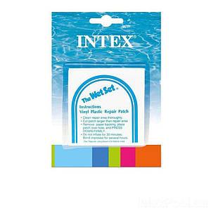 Самоклейки Intex 59631. Размер 7 х 7 см, 6 шт, (Оригинал)