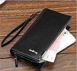 Мужской портмоне клатч Baellerry Classic черный распродажа, фото 2