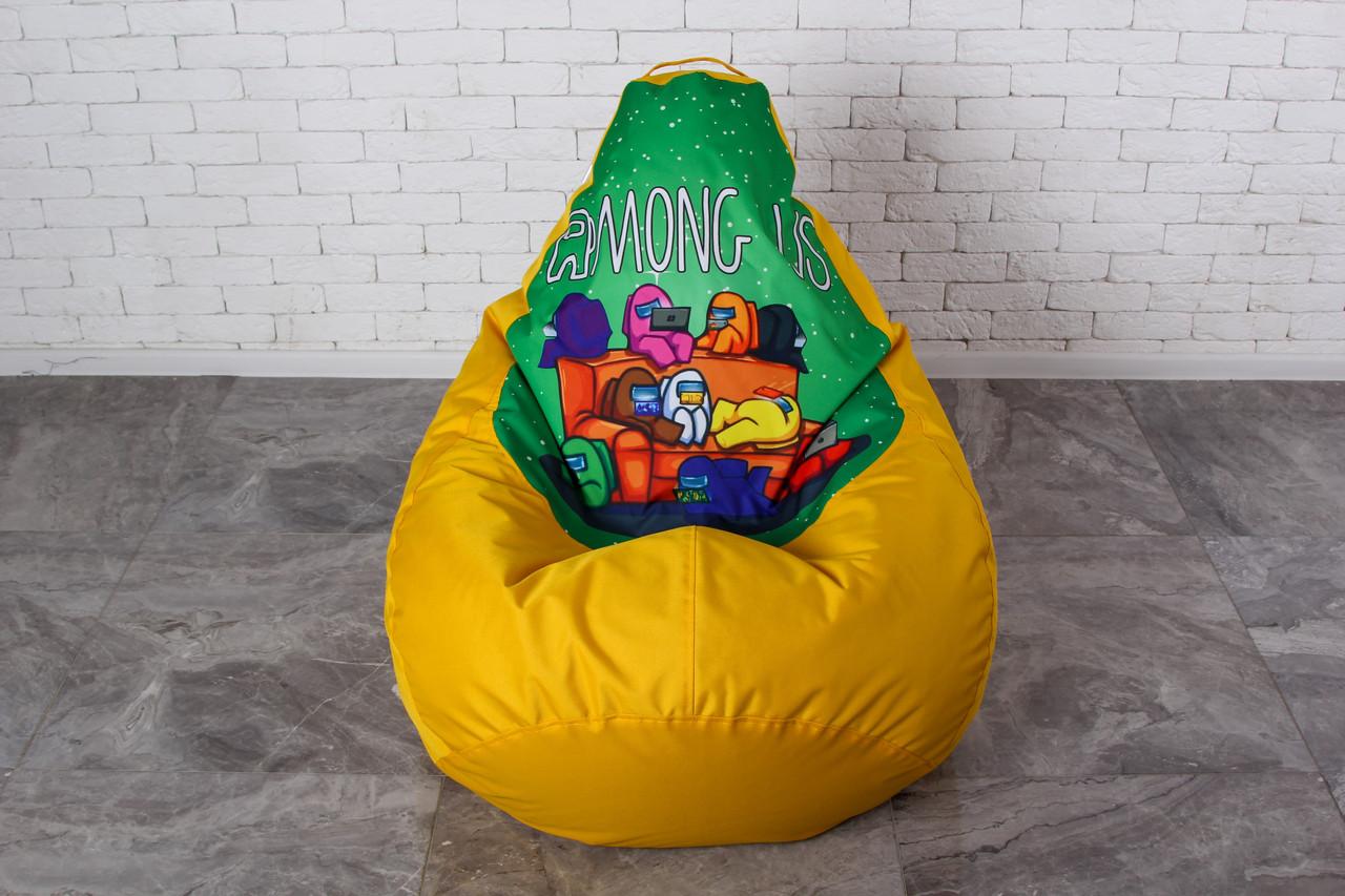 Кресло мешок груша Among Us XL (120х75) Амонг ас