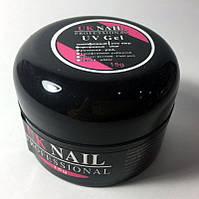 Гель UK NAIL PROFESSIONAL Pink (нежно-розовый) 15 g
