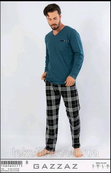 Піжама чоловіча трикотажна Gazzaz XL