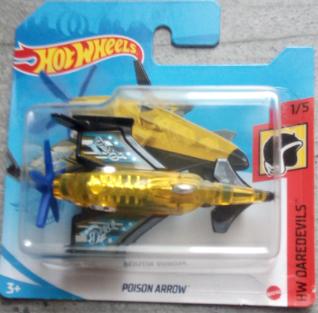 Машинка Hot Wheels 2021 Poison Arrow