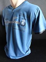 Однотонные мужские футболки с надписью , фото 1