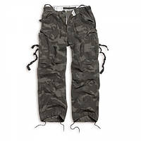 Брюки Surplus Vintage Fatigue Trousers Black, S